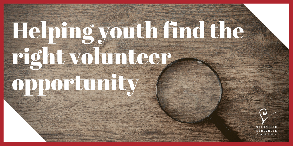 Helping Youth Find the Right Volunteer Opportunity