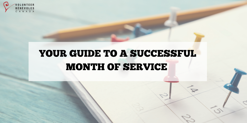 Your Guide to a Successful Month of Service