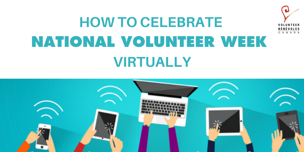 How to celebrate National Volunteer Week Virtually