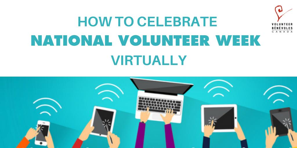 How to celebrate National Volunteer Week Virtually
